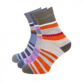 Ladies MultiStripe Sock