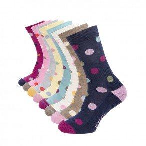 Ladies Spotty Sock