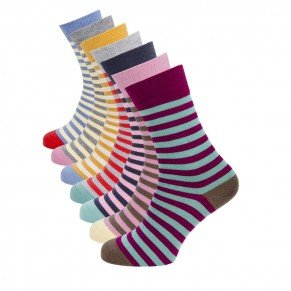 Ladies Stripe Sock