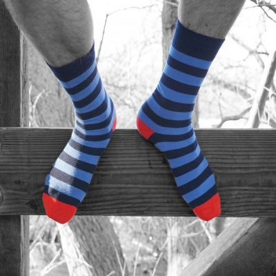 PITTCH Mens stripe sock
