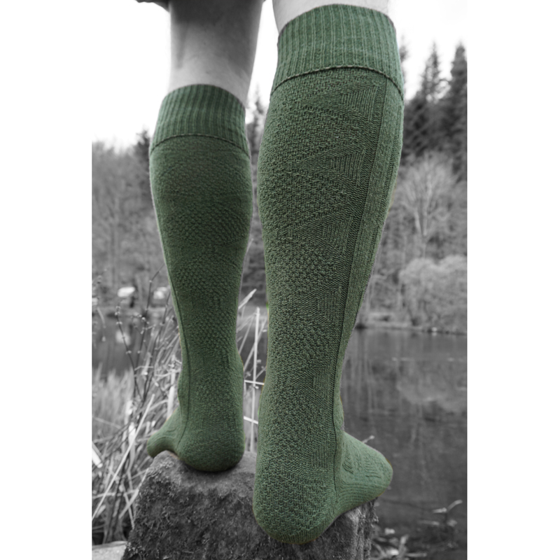 Men's long boot sock