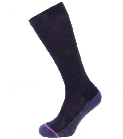 PITTCH Knee High Navy Sock