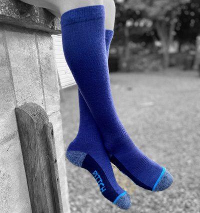 PITTCH fine long knee sock