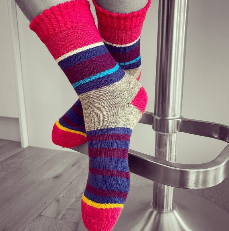PITTCH MultiStripe Sock